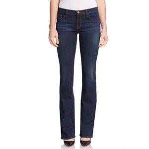 J Brand Dark Vintage Slim Boot Leg Jeans